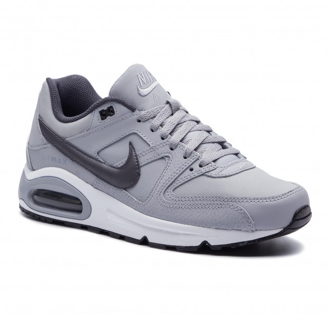 super popular 49650 46502 Shoes NIKE - Air Max Command Leather 749760 012 Wolf Grey Mtlc Dark Grey  Black - Sneakers - Low shoes - Men s shoes - efootwear.eu
