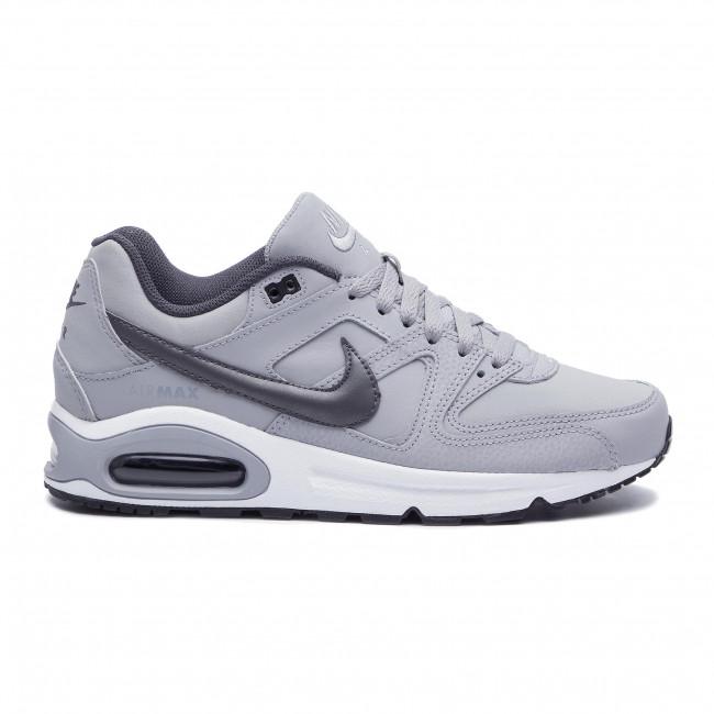 Nike Herren Sneaker Air Max Command Leather Wolf GreyMtlc