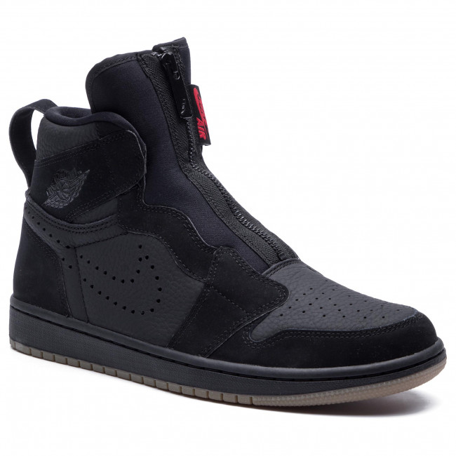Cantidad de soltero Mansión  Shoes NIKE - Air Jordan 1 High Zip AR4833 002 Black/University/Red/Black -  Sneakers - Low shoes - Men's shoes | efootwear.eu