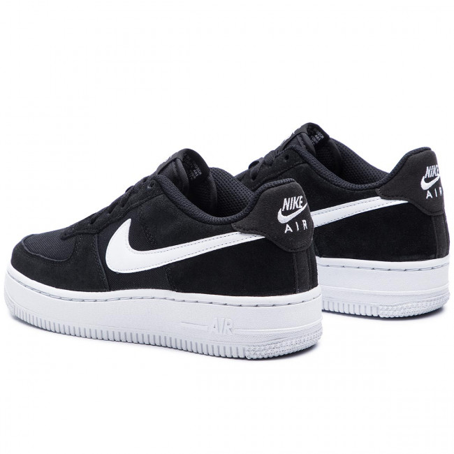 Shoes NIKE Air Force 1 Pe (Gs) BV0064 001 BlackWhite