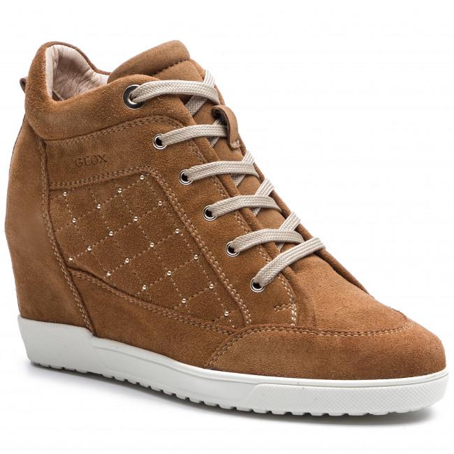 bahía Esquivo Muerto en el mundo  Sneakers GEOX - D Carum C D84ASC 022AU C2021 Curry - Sneakers - Low shoes -  Women's shoes | efootwear.eu