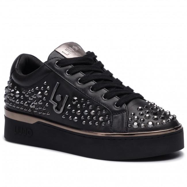 100% authentic 47b87 4d42f Sneakers LIU JO - Silvia 03 B69017 P0102 Black 22222