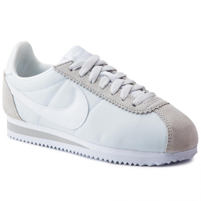 so cheap new style low priced Shoes NIKE - Classic Cortez Nylon 749864 010 Pure Platinum/White ...