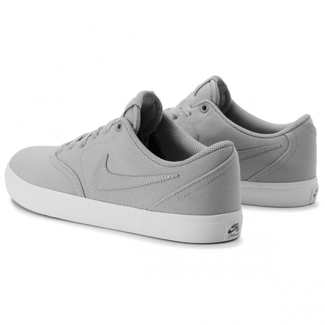 Shoes NIKE Sb Check Solar Cnvs 843896 018 Atmosphere Grey