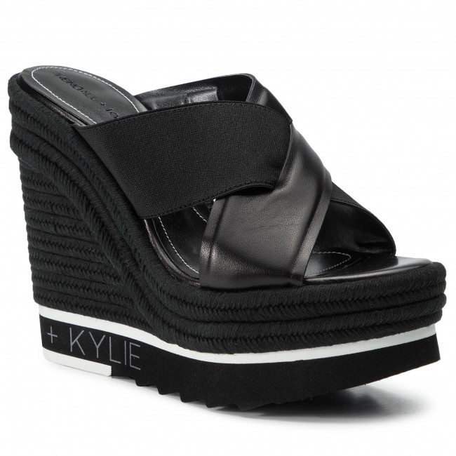 b3f5474e84f Espadrilles KENDALL + KYLIE - Glam Black Cationic