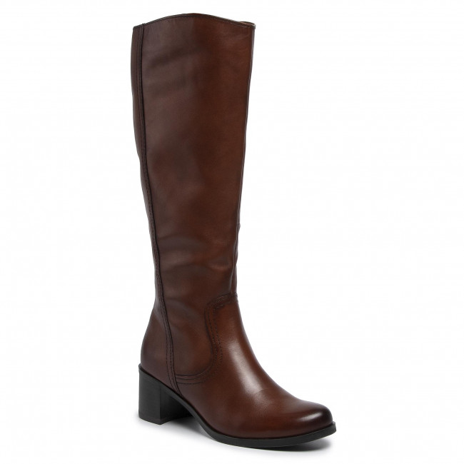 Knee High Boots MARCO TOZZI 2 25525 23 Cognac Antic 310