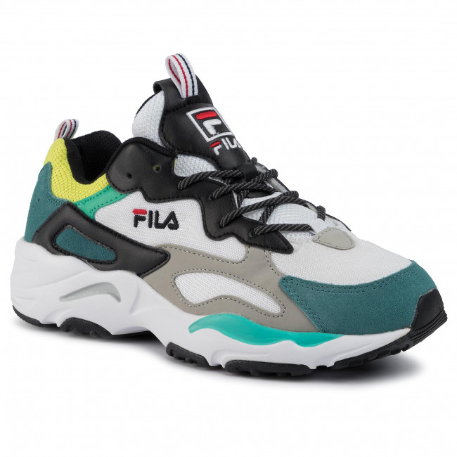 Sneakers FILA Ray Tracer 1010685.13C BlackEvergladeAcid Lime