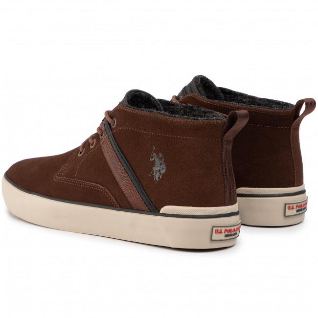 U.S. Polo Assn. Herren Sneakers   Modell: ANSON7105W9_S1_BRW