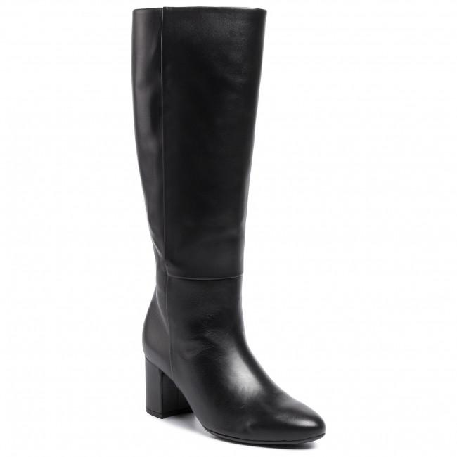 Knee High Boots GABOR - 35.809.27 Schwarz