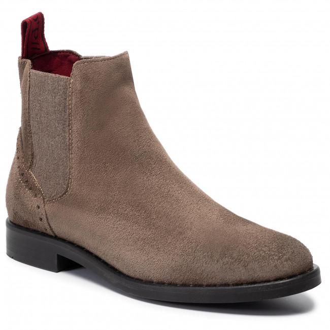 best website 5d1a4 58856 Ankle Boots MARC O'POLO - 907 14895001 300 Taupe 717