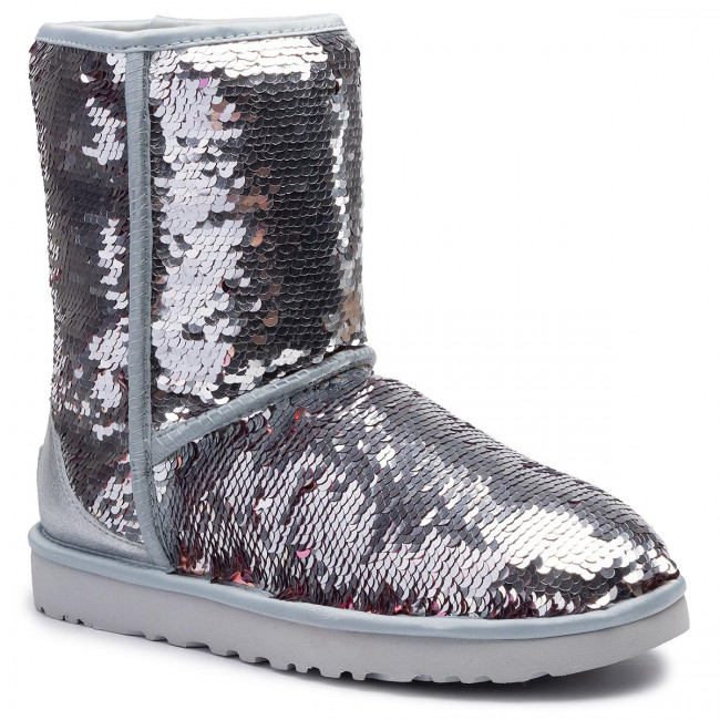 7364979a116 Shoes UGG - W Classic Short Sequin 1094982 W/SLVR