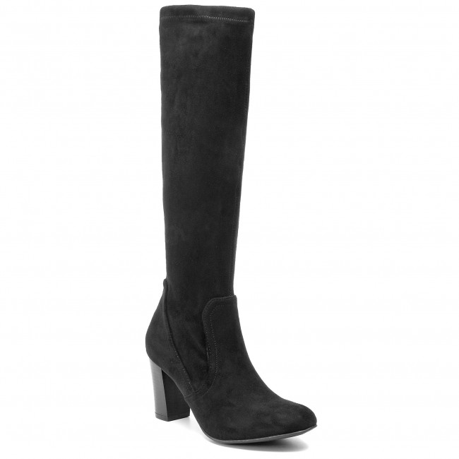 Knee High Boots CAPRICE 9 25502 23 Black Stretch 044