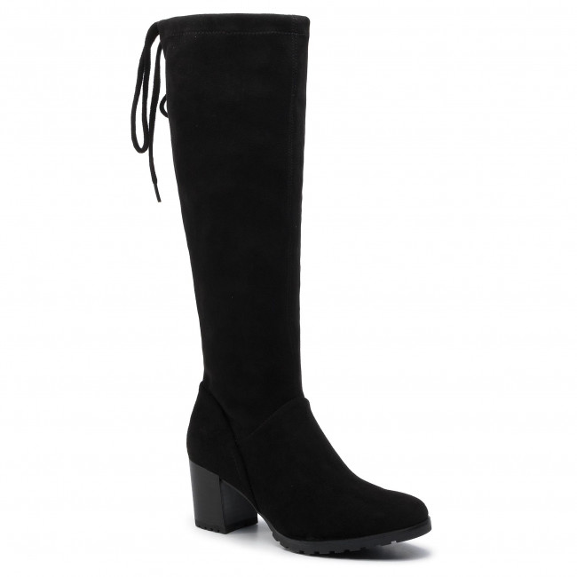 Knee High Boots CAPRICE 9 25606 23 Black Stretch 044