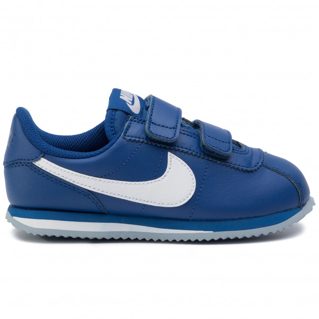 Shoes NIKE Cortez Basic Sl (Psv) 904767 402 Indigo ForceWhite