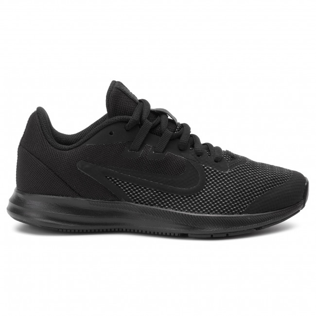 Superposición Enfermedad es bonito  Shoes NIKE - Downshifter 9 (Gs) AR4135 001 Black/Black/Anthracite - Indoor  - Running shoes - Sports shoes - Women's shoes | efootwear.eu