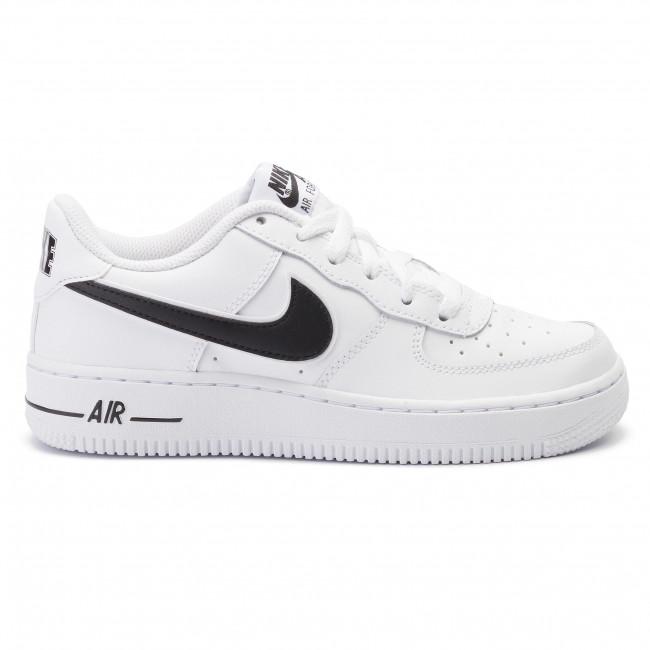 Shoes NIKE - Air Force 1-3 (Gs) AV6252 100 White/Black