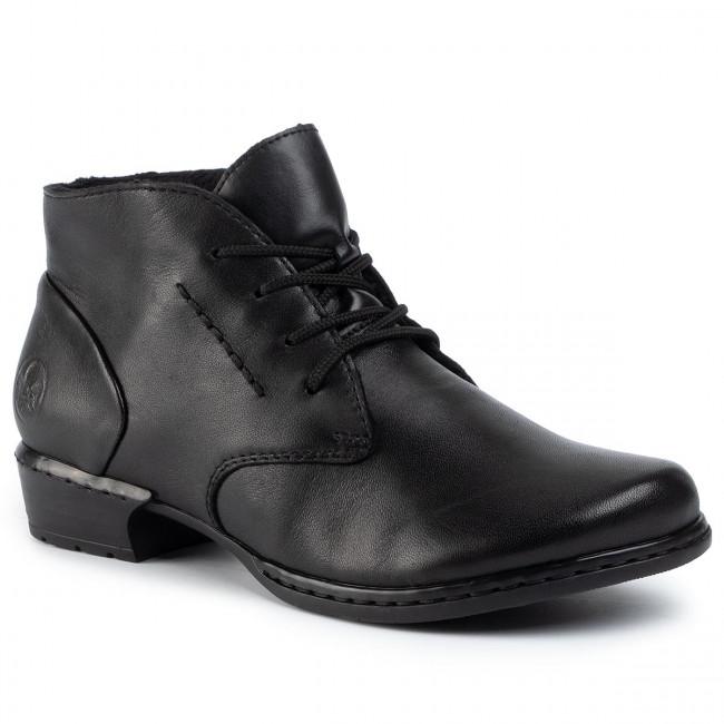 Boots RIEKER 52230 01 Schwarz