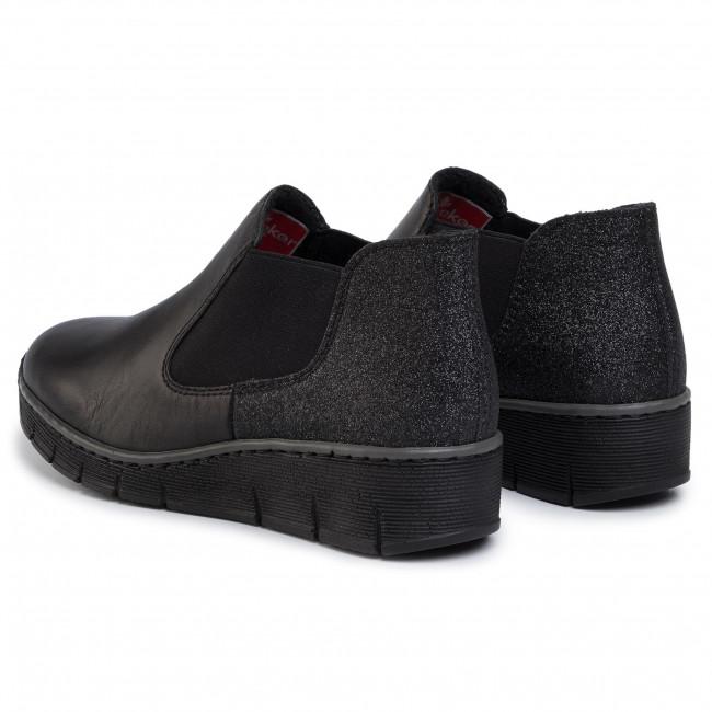 Ankle Boots RIEKER 53790 00 Schwarz
