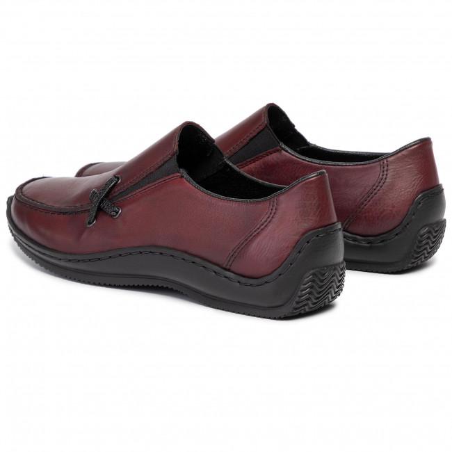 Rieker women slip on shoe red L1783 36