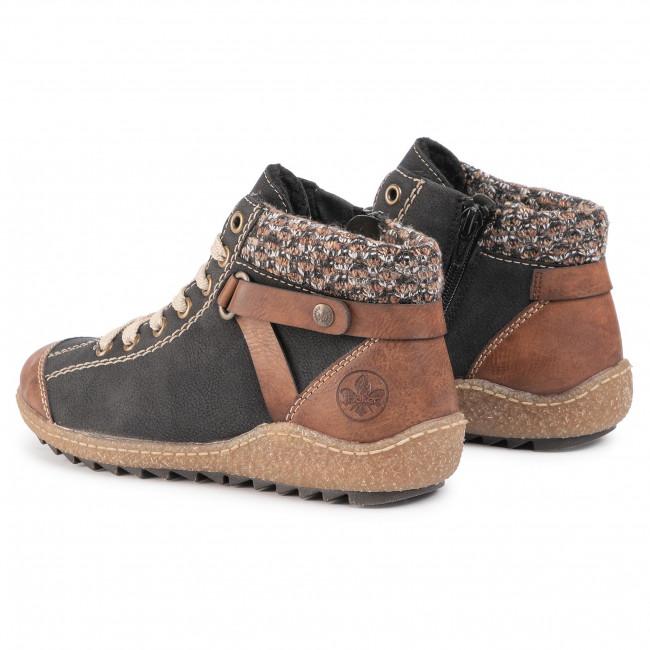 Boots RIEKER L7527 22 Braun Kombi