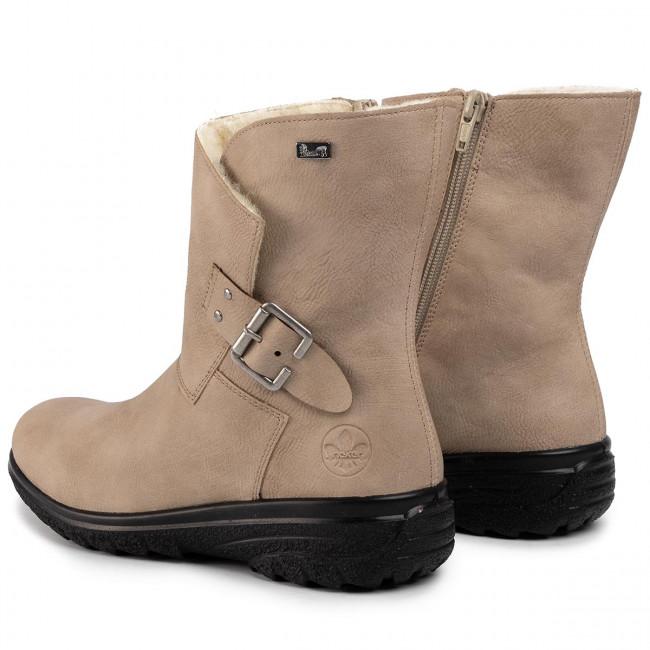 Boots RIEKER Z7084 60 Beige