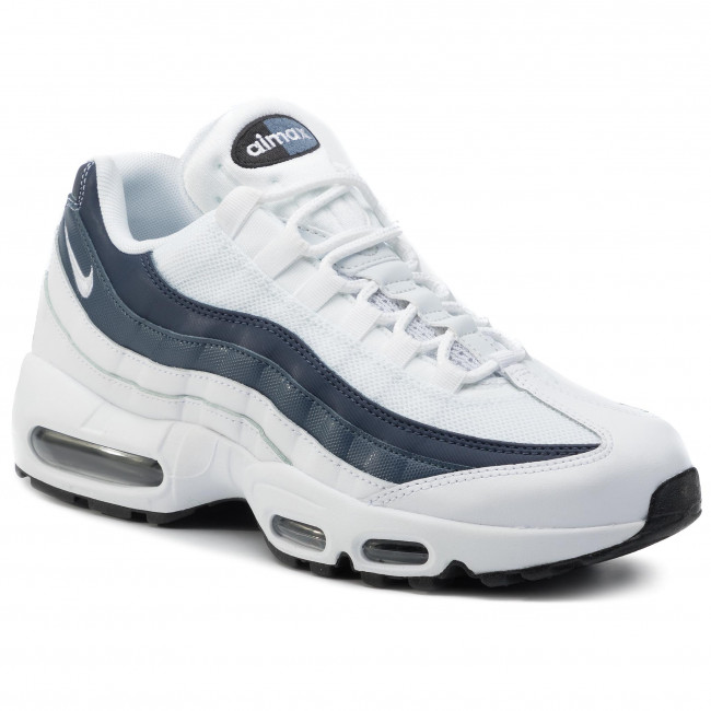 Shoes NIKE Air Max 95 Essential 749766 114 WhiteWhiteMidnight Navy