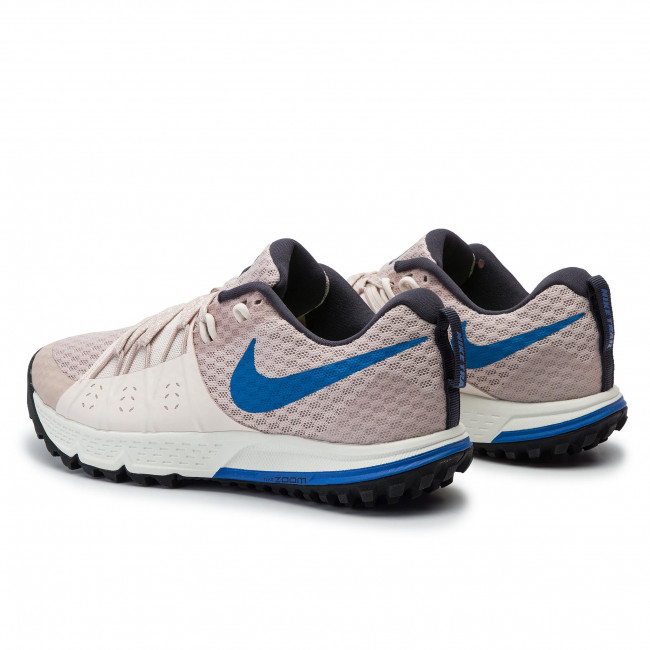 Shoes NIKE Air Zoom Wildhorse 4 880566 200 Particle BeigeSignal Blue
