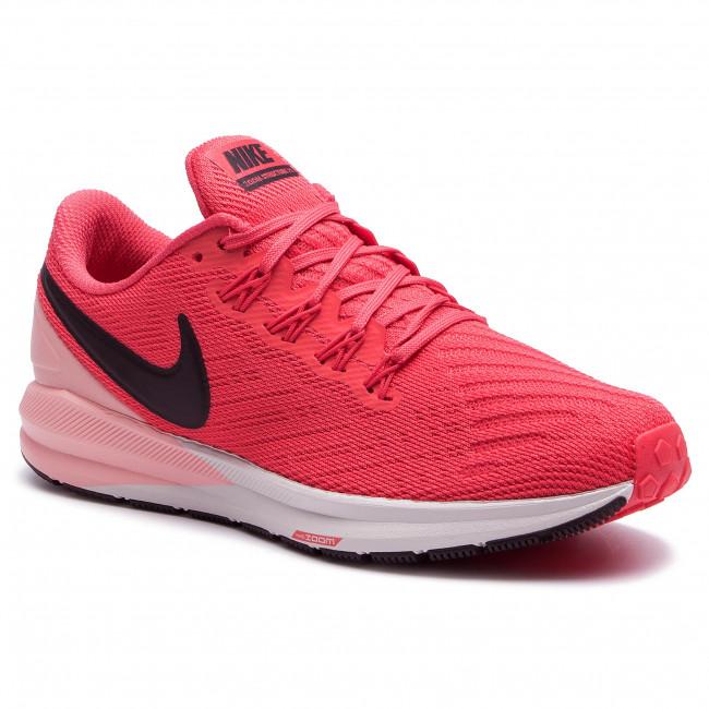 Mirar apoyo brumoso  Shoes NIKE - Air Zoom Structure 22 AA1640 800 Ember Glow/Oil Grey - Indoor  - Running shoes - Sports shoes - Women's shoes | efootwear.eu