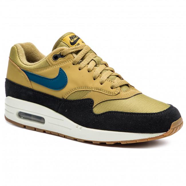 Shoes NIKE Air Max 1 AH8145 302 Golden MossBlue ForceBlack