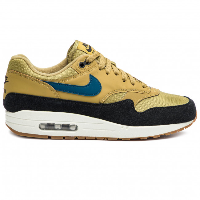 584e9ca34 Shoes NIKE - Air Max 1 AH8145 302 Golden Moss/Blue Force/Black ...