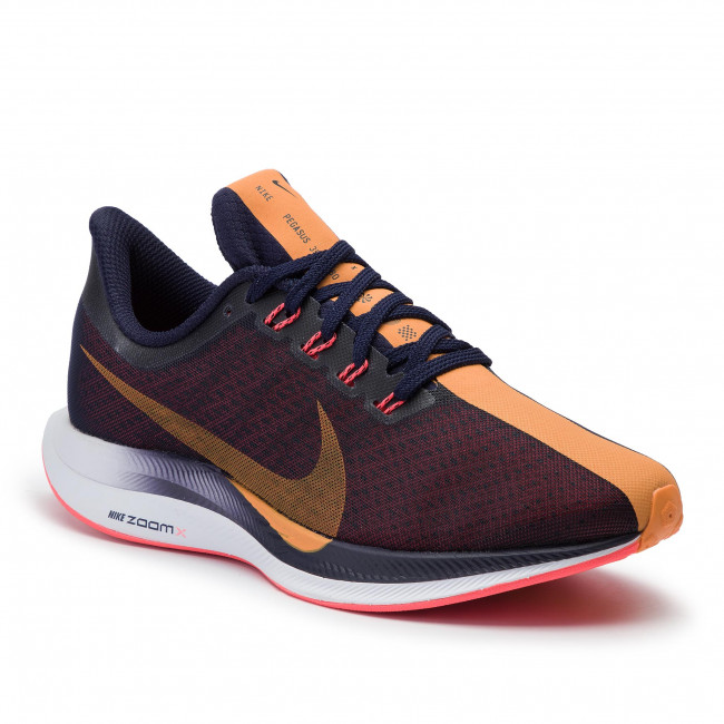 Trastornado derrocamiento Madurar  Shoes NIKE - Zoom Pegasus 35 Turbo AJ4115 486 Blackened Blue/Orange Peel -  Indoor - Running shoes - Sports shoes - Women's shoes | efootwear.eu