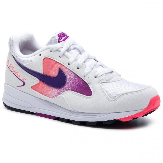 Nike Air Skylon II white court purple solar red