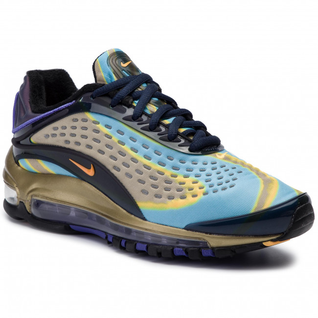 Orden alfabetico mostrar Viaje  Shoes NIKE - Air Max Deluxe AQ1272 400 MIdnight Navy/Laser Orange -  Sneakers - Low shoes - Women's shoes | efootwear.eu
