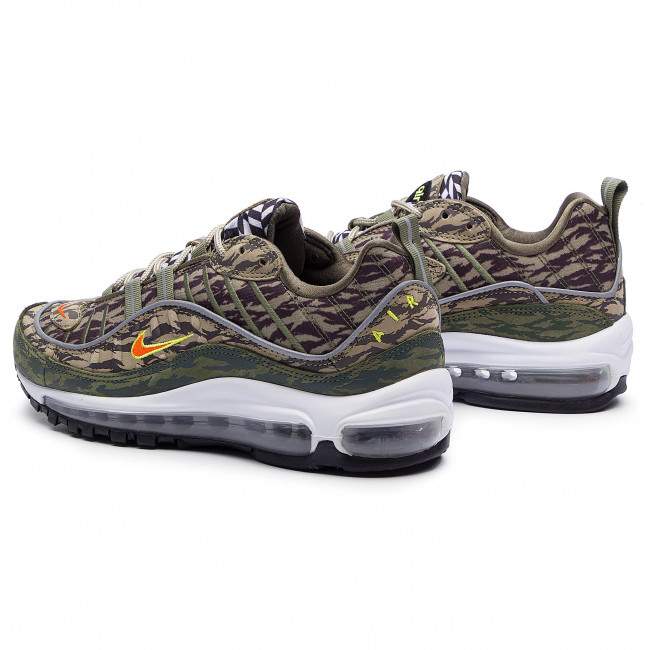 Nike Air Max 98 AOP Pack KhakiTeam Orange Medium Olive AQ4130 200