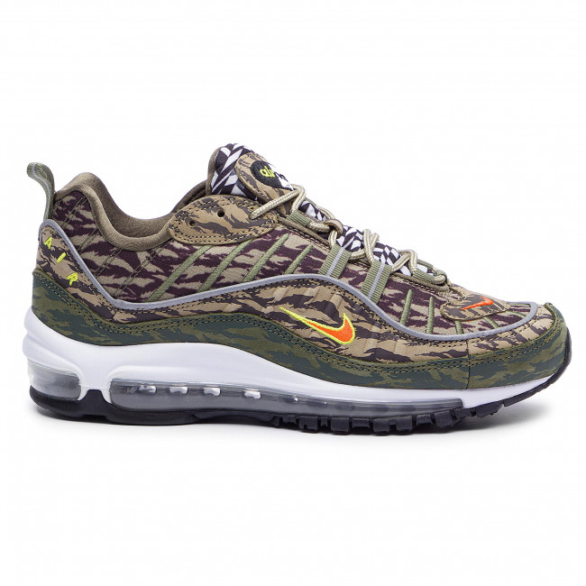 Shoes NIKE Air Max 98 Aop AQ4130 200 KhakiTeam OrangeMedium Olive