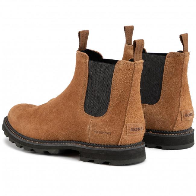 Ankle Boots SOREL Madson Chelsea Wp NM3475 ElkCoal 286