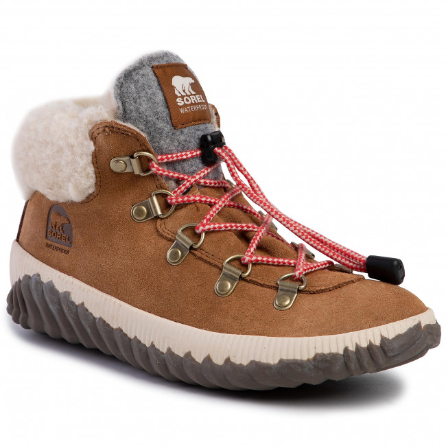 Boots SOREL - Youth Out N About Conquest NY1952 Camel Brown/Quarry 224