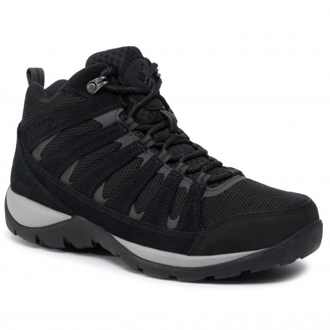 Trekker Boots COLUMBIA Redmond V2 Mid Wp BM0833 BlackDark Grey 010
