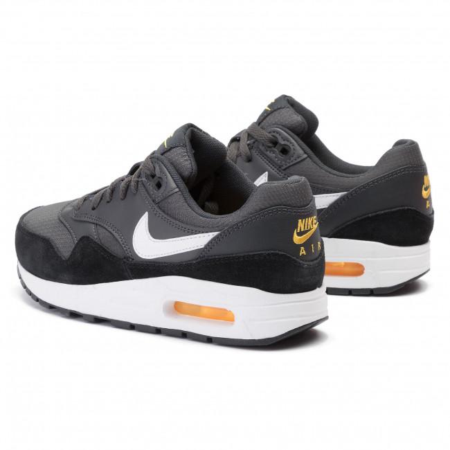 Shoes NIKE Air Max 1 (Gs) 807602 017 AnthraciteWhiteBlack