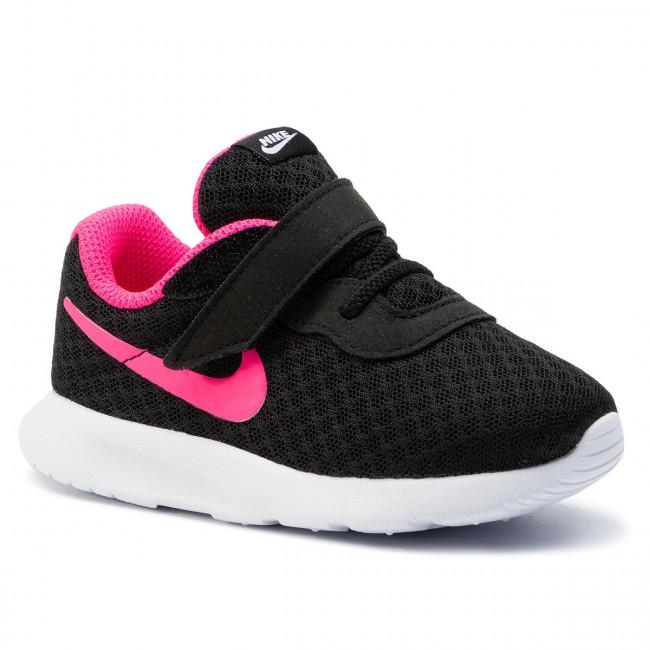 Nike Tanjun TDV Black//Hyper-Pink White Toddler Shoes 818386 061 Free Shipping