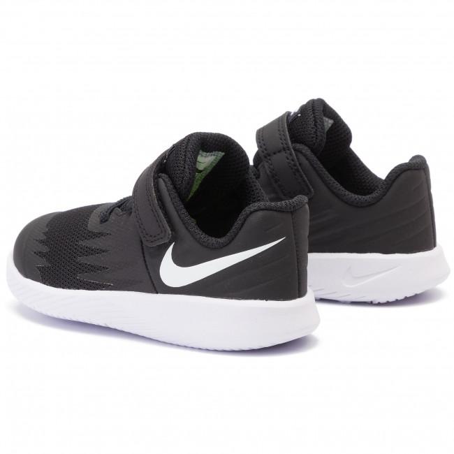 Autónomo Santuario Duplicar  Shoes NIKE - Star Runner (TDV) 907255 001 Black/White Volt - Velcro - Low  shoes - Boy - Kids' shoes | efootwear.eu