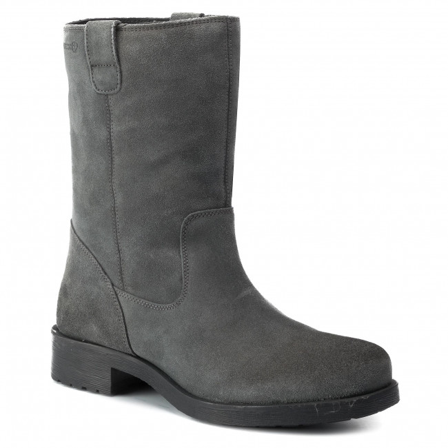 Específico películas menta  Boots GEOX - D Rawelle B D846RB 00023 C9004 Anthracite - Boots - High boots  and others - Women's shoes | efootwear.eu