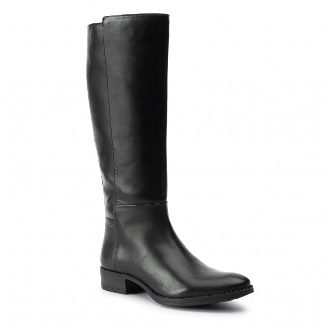 Knee High Boots GEOX D Laceyin E D84BFE 05443 C9999 Black