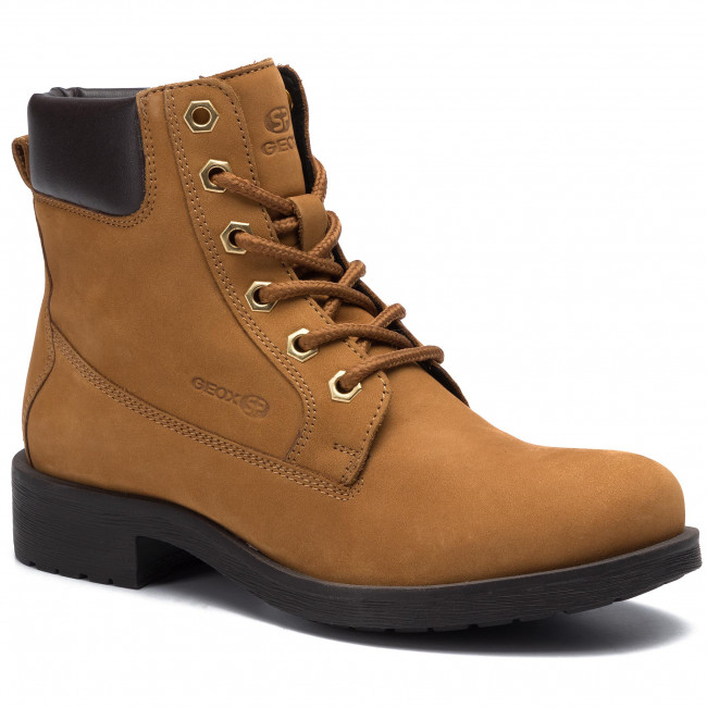 Hiking Boots GEOX - D Rawelle B D946RB 032BC C5B6M Biscuit/Coffee