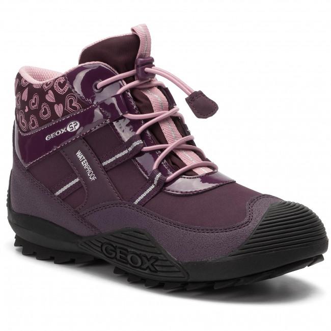 Snow Boots GEOX J Atreus G.B Wpf A J847HA 00450 C8224 D PurplePink