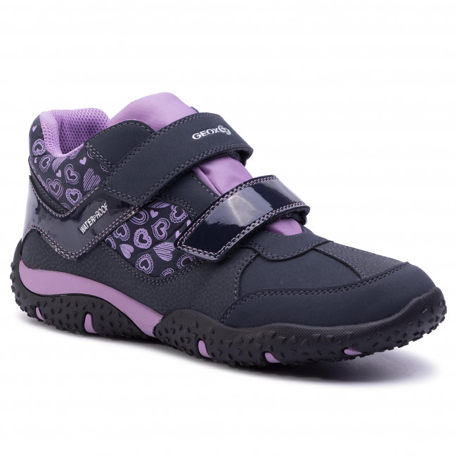 crear desagradable Escultor  Boots GEOX - J Baltic G.B Wpf B J942VB 0FUCE C4215 D Navy/Lilac - Boots -  High boots and others - Girl - Kids' shoes | efootwear.eu