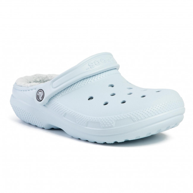 Slides CROCS Classic Lined Clog 203591 Mineral BlueMineral Blue