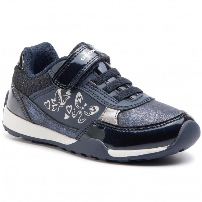 Sneakers GEOX J N. Jocker G. A J94G2A 0HIPV C4201 M NavyDk Silver