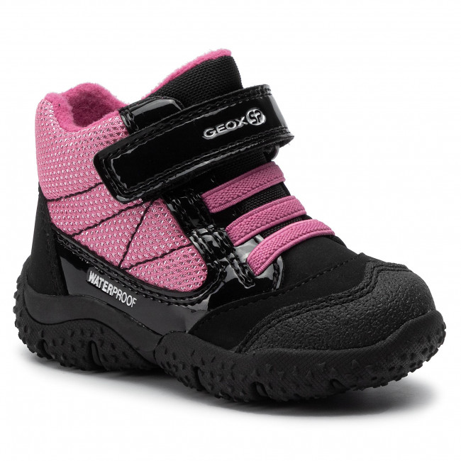 danza Hacia fuera Genealogía  Snow Boots GEOX - B Baltic G. Wpf B84H1A 050EW C0922 M Black/Fuchsia -  Trekker boots - High boots and others - Girl - Kids' shoes | efootwear.eu