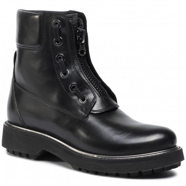 Boots GEOX - D Asheely Plus A D84ACA 043BN C9B1G Black/Gun